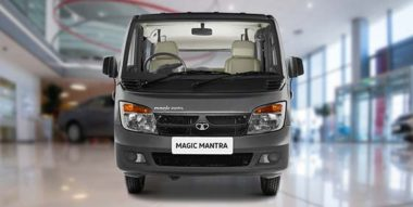 Tata Magic Mantra Grey Colour Front side
