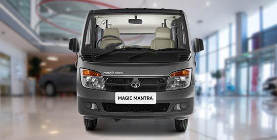 Tata Magic Mantra Grey Colour Front side