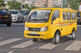 What is the mileage of Tata Magic Express