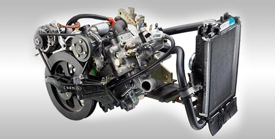 Tata Magic Engine Full view