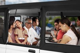 Tata Magic Passengers view