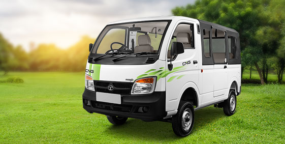 Tata Magic CNG White LH view