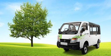 Tata Magic CNG White