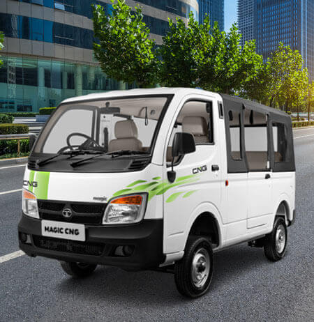 Tata Magic CNG LH side view