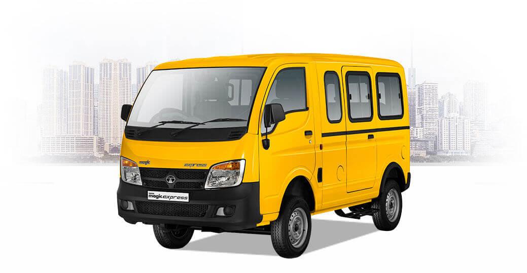 Tata Magic Express 10 Seater Yellow