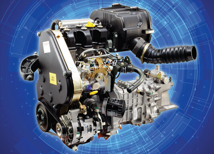 Tata Magic Express 10 Seater Engine