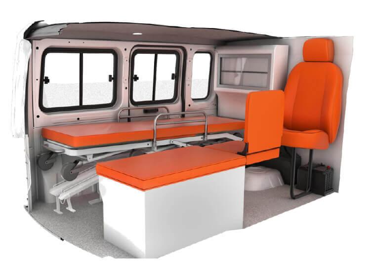 Tata Magic Express Type-B Ambulance Features