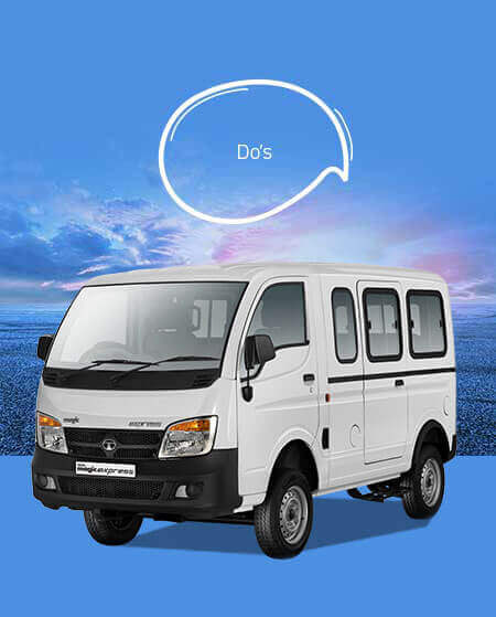 Tata Magic Owners Vehicle Do's Tips