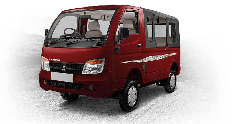 Tata Magic Mantra Blazing Red