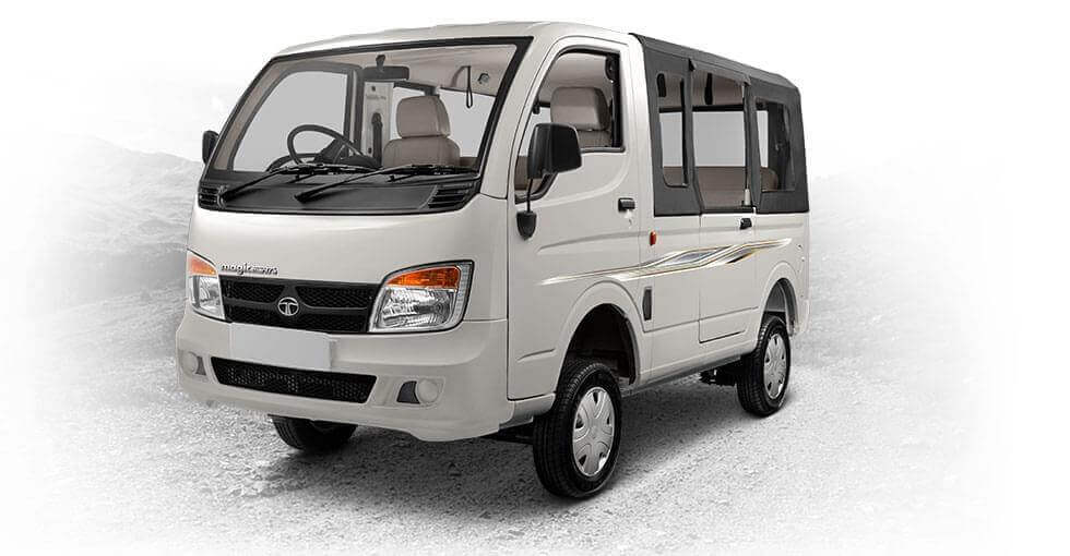 Tata Magic Mantra Meteor silver