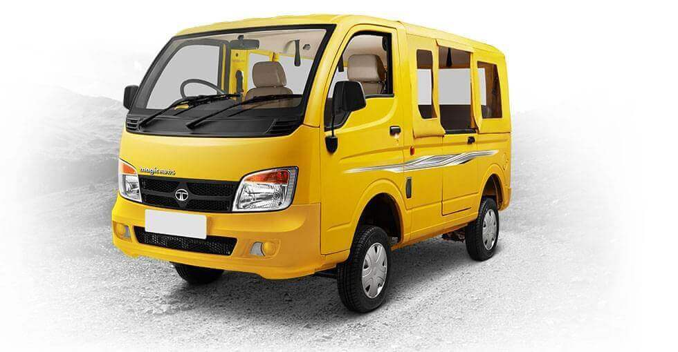 Tata Magic Mantra Skool yellow
