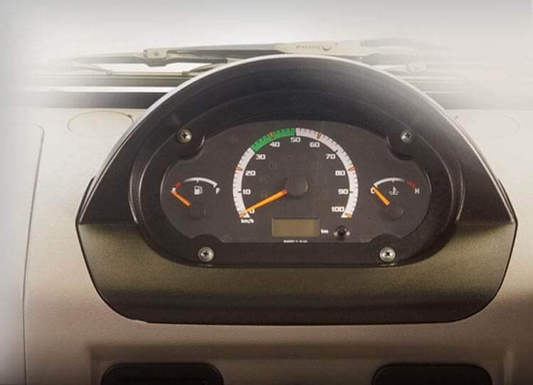 Tata Magic Mantra Instrument Panel