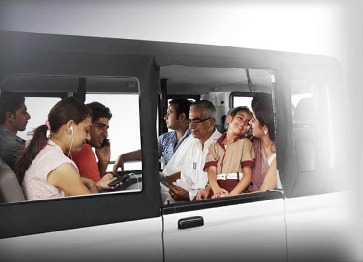 Tata Magic Mantra Multiple seat options