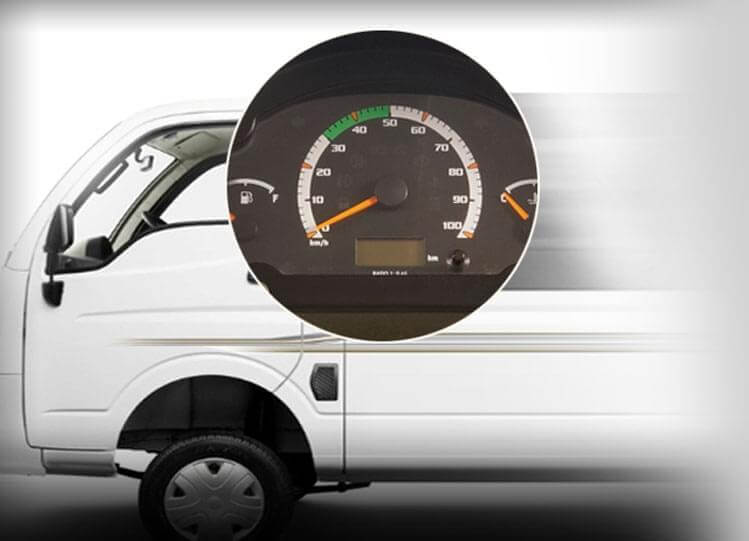 Tata Magic Mantra Speedometer