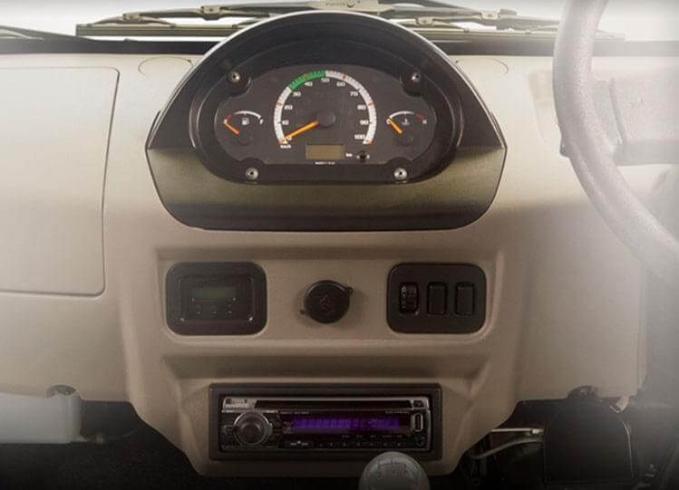 Tata Magic Mantra Style Dashboard