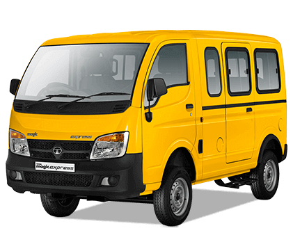 Tata Magic Yellow colour LH View