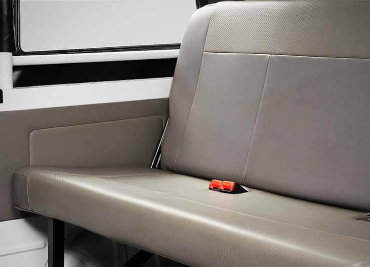 Tata Magic cushioned seats