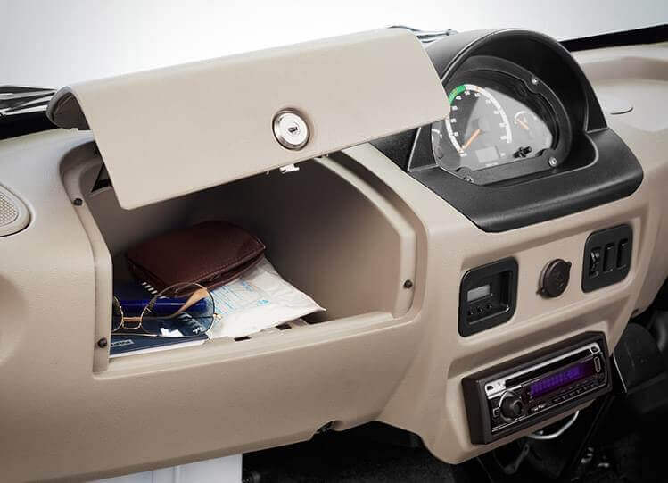 Lockable Glove Compartment