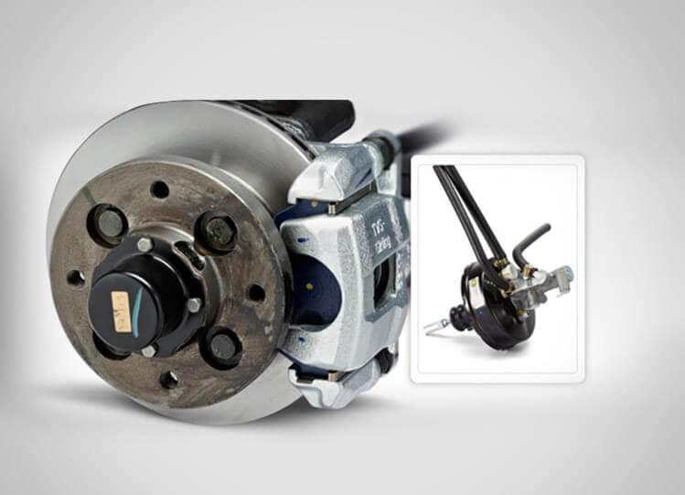Tata Magic Vacuum Brakes